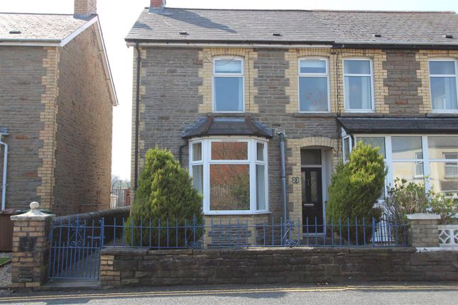 Thumbnail Semi-detached house for sale in Pandy Road, Bedwas, Caerphilly