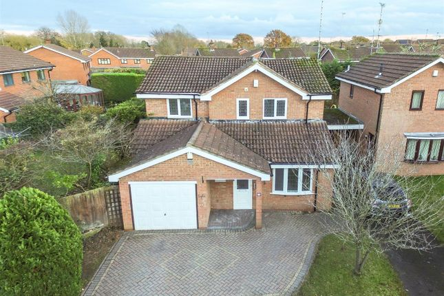 Thumbnail Detached house to rent in Daytona Drive, Millisons Wood, Coventry