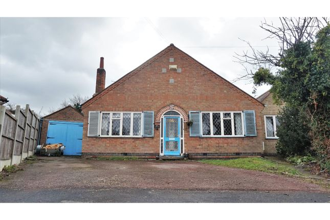 Thumbnail Detached bungalow for sale in Orchard Avenue, Leicester