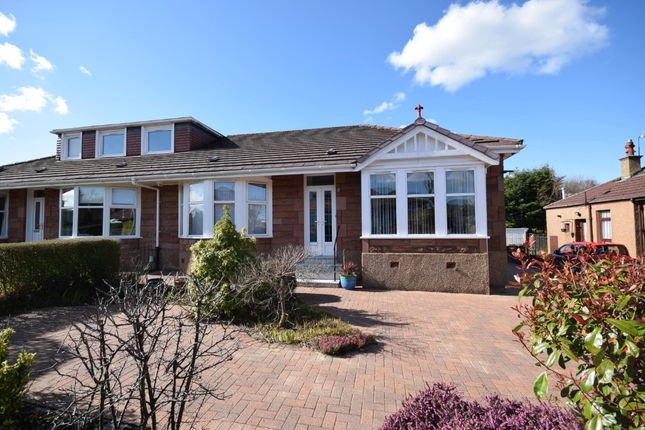 Thumbnail Semi-detached bungalow for sale in Carleton Drive, Giffnock, Glasgow