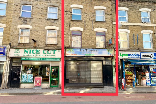 Restaurant/cafe to let in West Green Road, London