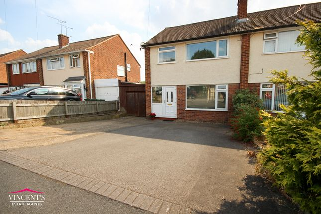 Thumbnail Semi-detached house for sale in Farmway, Leicester