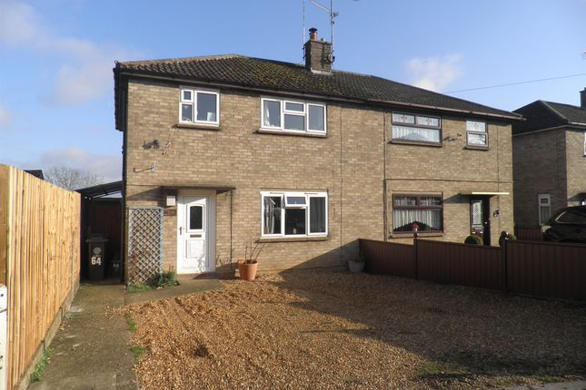 Thumbnail Semi-detached house for sale in Rock Road, Oundle, Peterborough