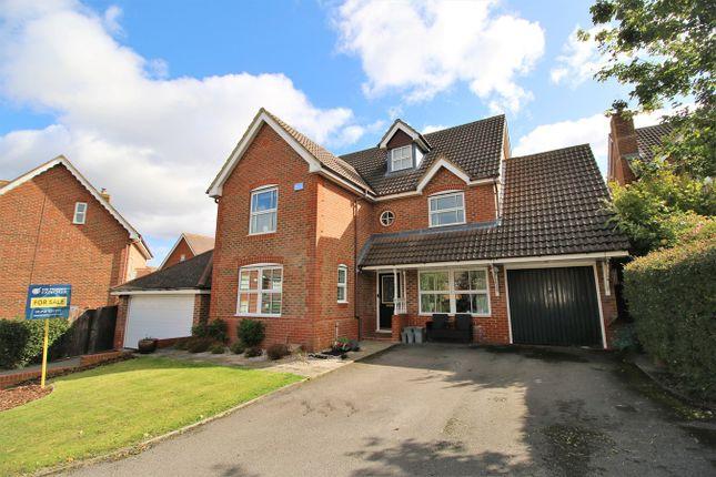Thumbnail Detached house for sale in Skylark Close, Gabriel Park, Basingstoke