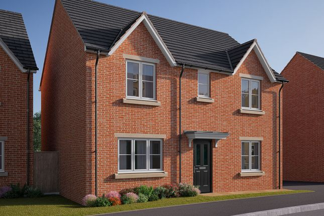 "Thumbnail Detached house for sale in ""The Leverton"" at Cobblers Lane, Pontefract"