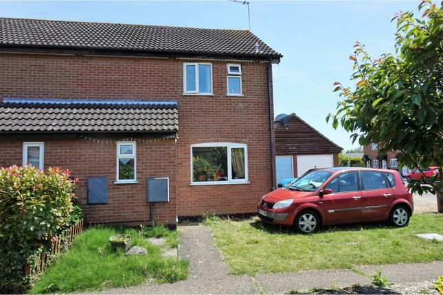 Thumbnail Semi-detached house for sale in Pursehouse Way, Diss