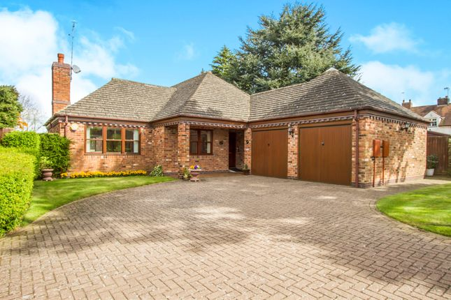 Thumbnail Detached bungalow for sale in Bramley Orchard, Bushby, Leicester