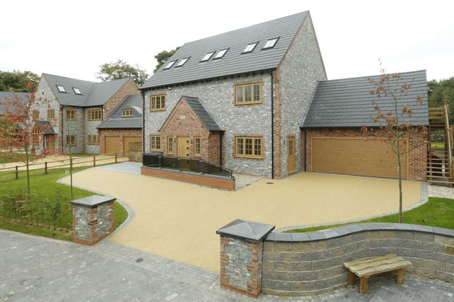 Thumbnail Detached house for sale in Plot 4, Woodland Grove, Woodhouse Eaves