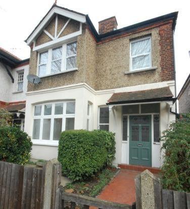 Thumbnail Flat to rent in Balfour Avenue, London