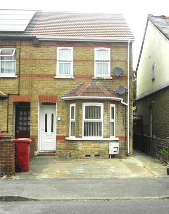 Thumbnail End terrace house to rent in Montague Road, Slough