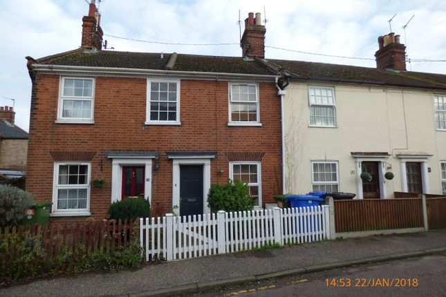 Thumbnail Terraced house to rent in Fair Close, Beccles