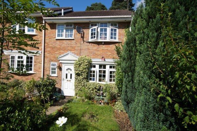 Thumbnail Terraced house for sale in Ashmead, Bordon