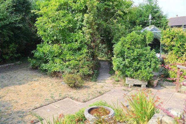 Garden of Gable Croft, Lichfield WS14