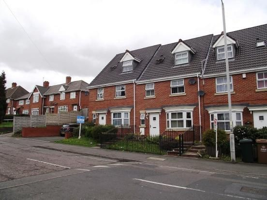 Thumbnail End terrace house to rent in Hospital Street, Walsall