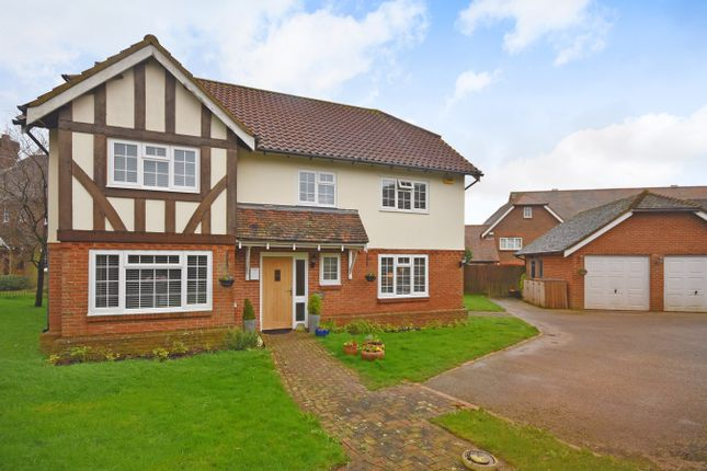 Thumbnail Detached house for sale in Fulmar Mews, Hawkinge, Folkestone