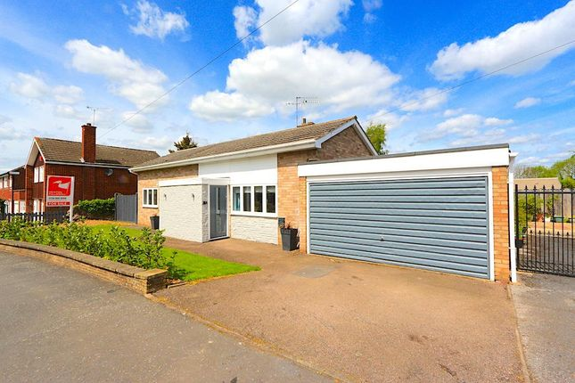 Thumbnail Detached bungalow to rent in Priory Walk, Leicester Forest East, Leicester
