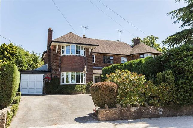 Thumbnail Semi-detached house for sale in Cheddleton Road, Leek