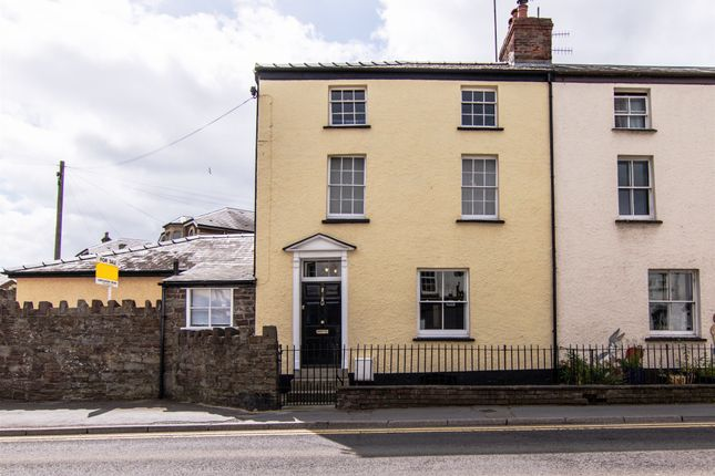 Thumbnail End terrace house for sale in Merthyr Road, Abergavenny
