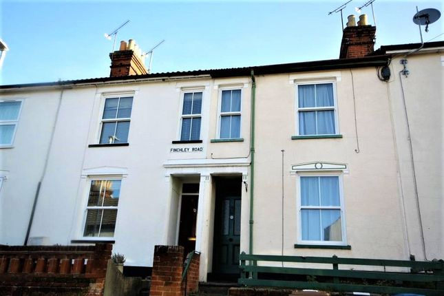 Terraced house to rent in Finchley Road, Ipswich, Suffolk