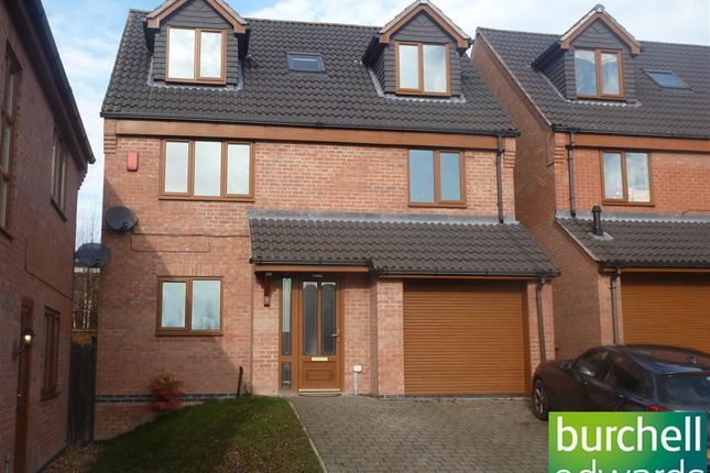 Thumbnail Detached house to rent in Maple Close, Broadmeadows, Alfreton