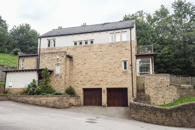 Thumbnail Detached house for sale in Hilltop, Fernhill, Grasscroft