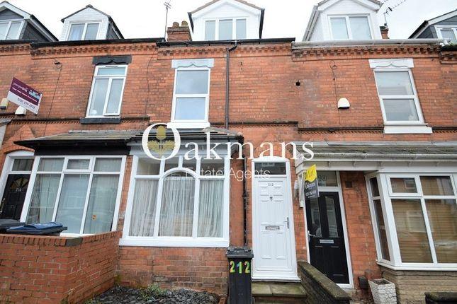 Thumbnail Terraced house for sale in Hubert Road, Birmingham, West Midlands.