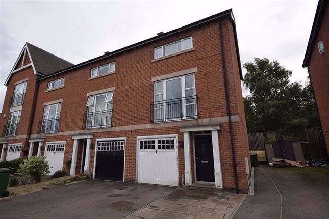 Thumbnail Town house to rent in Brook Close, Heritage Point, Belper