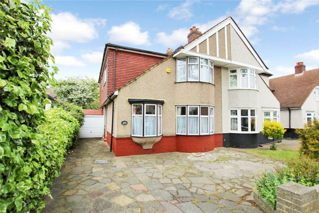 Thumbnail Semi-detached house for sale in Hurst Road, Sidcup, Kent