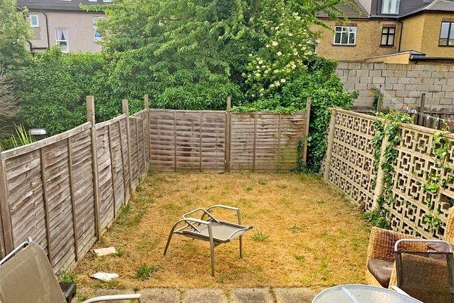 Garden of De Vere Gardens, Ilford, Essex IG1