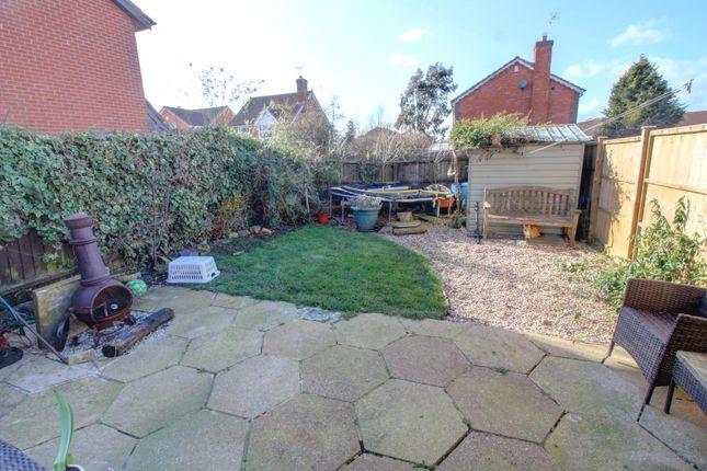 Rear Garden of Boulton Close, Broughton Astley, Leicester LE9