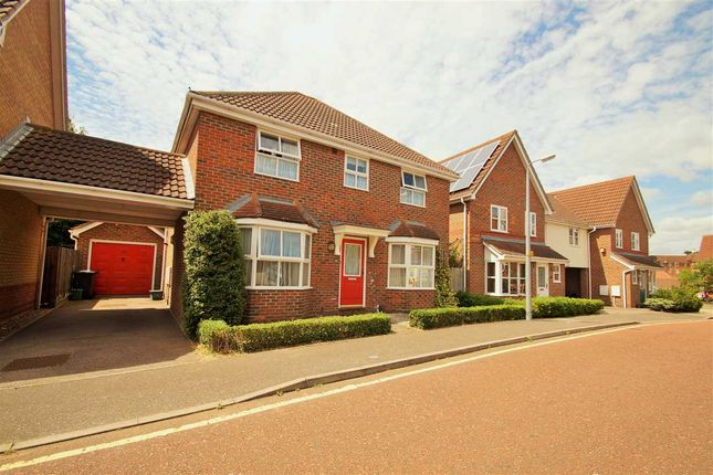 Thumbnail Detached house for sale in Braithwaite Drive, Turner Rise, Colchester
