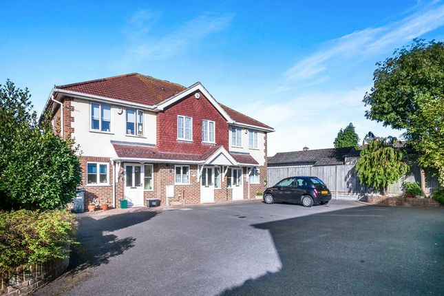 Thumbnail Terraced house for sale in Brookfield Close, Redhill