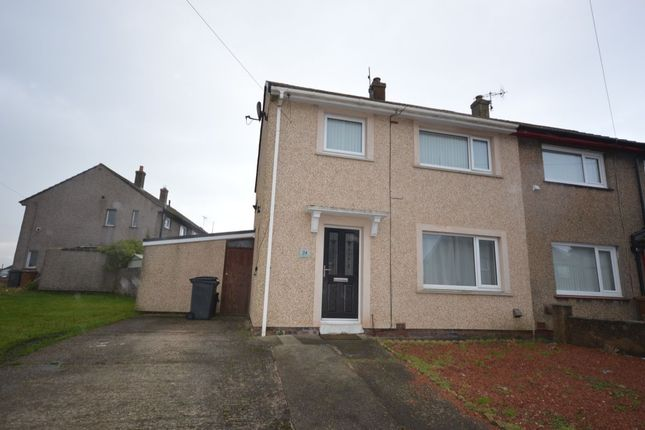 Thumbnail Semi-detached house to rent in Patterdale Avenue, Hensingham, Whitehaven