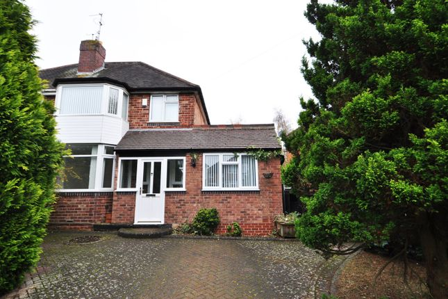 Thumbnail Semi-detached house to rent in Wyche Avenue, Birmingham