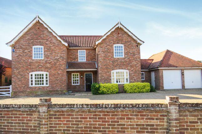 Thumbnail Detached house for sale in Woodbridge Road, Tunstall, Woodbridge