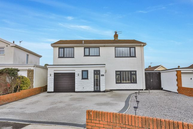 Thumbnail Detached house for sale in Redshank Close, Porthcawl