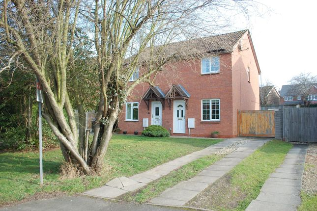 Thumbnail Semi-detached house for sale in Devonish Close, Alcester