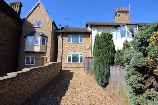 Thumbnail End terrace house for sale in Fletton Avenue, Peterborough