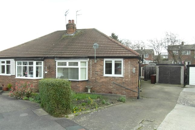 Thumbnail Semi-detached bungalow to rent in Kingsley Garth, Wakefield