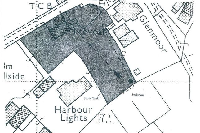 Site Plan of Higher Town, St. Martin's, Isles Of Scilly TR25