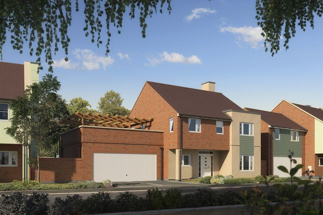 "Thumbnail Detached house for sale in ""The Zion"" at Harp Hill, Charlton Kings, Cheltenham"