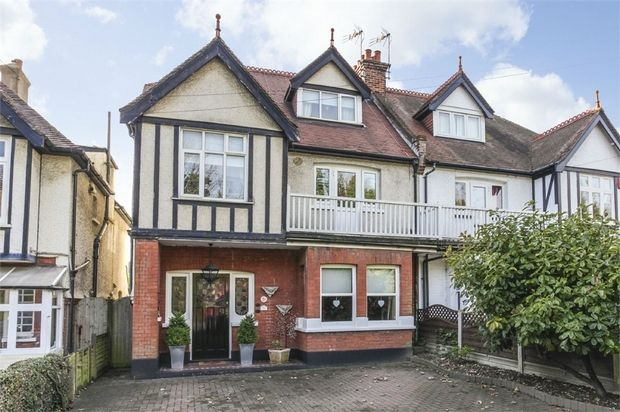 Thumbnail Semi-detached house for sale in St. Peters Park Road, Broadstairs