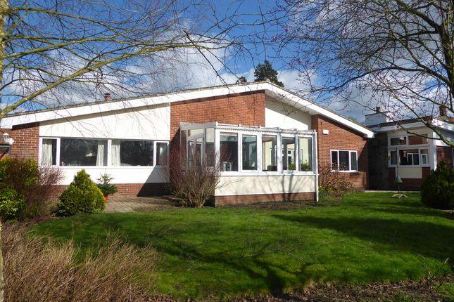 Thumbnail Detached bungalow for sale in Dunburgh Road, Geldeston, Beccles