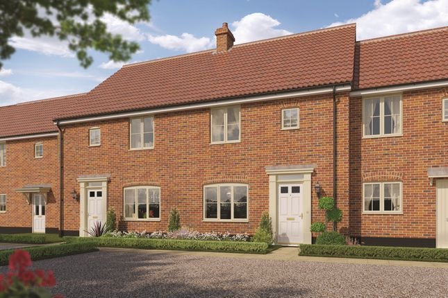Thumbnail End terrace house for sale in Talbot, Station Road, Campsea Ashe, Woodbridge