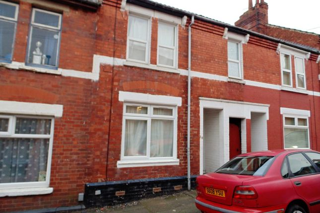 Thumbnail Terraced house for sale in Shaftesbury Street, Kettering