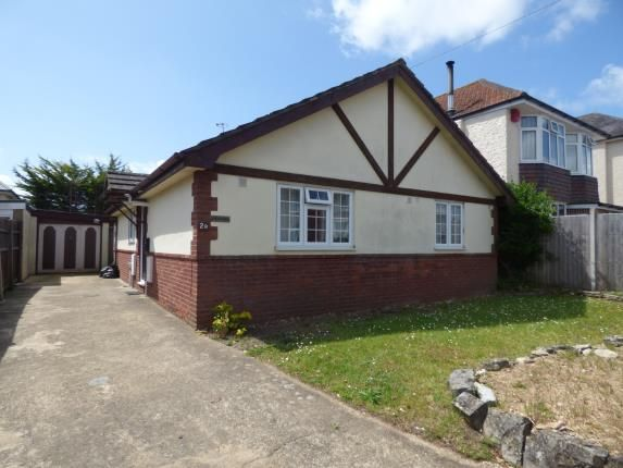 Thumbnail Bungalow for sale in Strouden Road, Winton, Bournemouth
