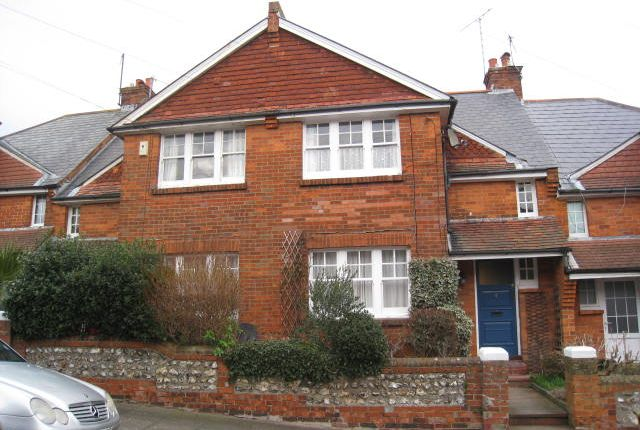 Thumbnail Terraced house for sale in Parsonage Road, Eastbourne
