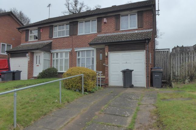 Thumbnail Semi-detached house for sale in Rea Valley Drive, Birmingham