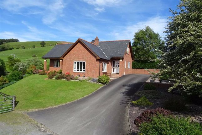 Thumbnail Bungalow for sale in Pen Llety, Gorn Road, Llanidloes, Powys