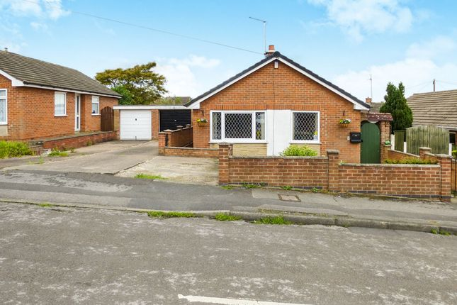 Thumbnail Detached bungalow for sale in Lawrence Avenue, Awsworth, Nottingham